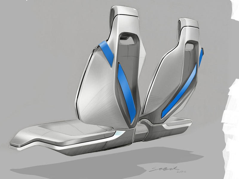 Collection Of Bmw Design Sketches