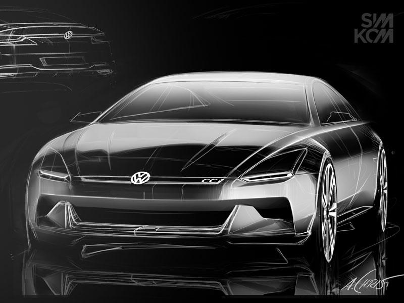 Alex Christ\'s VW | Car Sketch n Rendering | Pinterest | Best ...